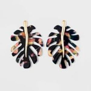 SUGARFIX by BaubleBar Leaf Earrings